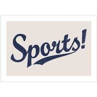 Sports! - horizontal-print - small view