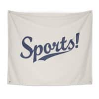 Sports! - indoor-wall-tapestry - small view