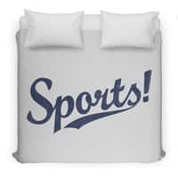 Sports! - duvet-cover - small view