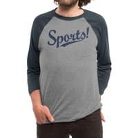 Sports! - triblend-34-sleeve-raglan-tee - small view