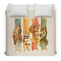 House Brawl - duvet-cover - small view