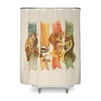 House Brawl - shower-curtain - small view