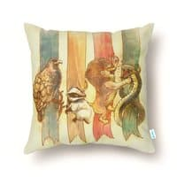 House Brawl - throw-pillow - small view