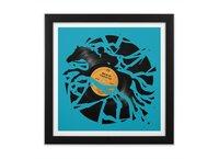 Disc Jockey - black-square-framed-print - small view