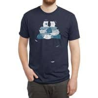 Pillow Fight - mens-triblend-tee - small view