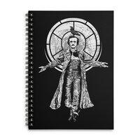 Edgar Allan Crow - spiral-notebook - small view