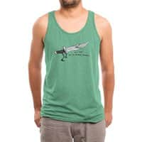 Stabby McKnife - mens-triblend-tank - small view