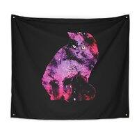 Celestial Cat - indoor-wall-tapestry - small view