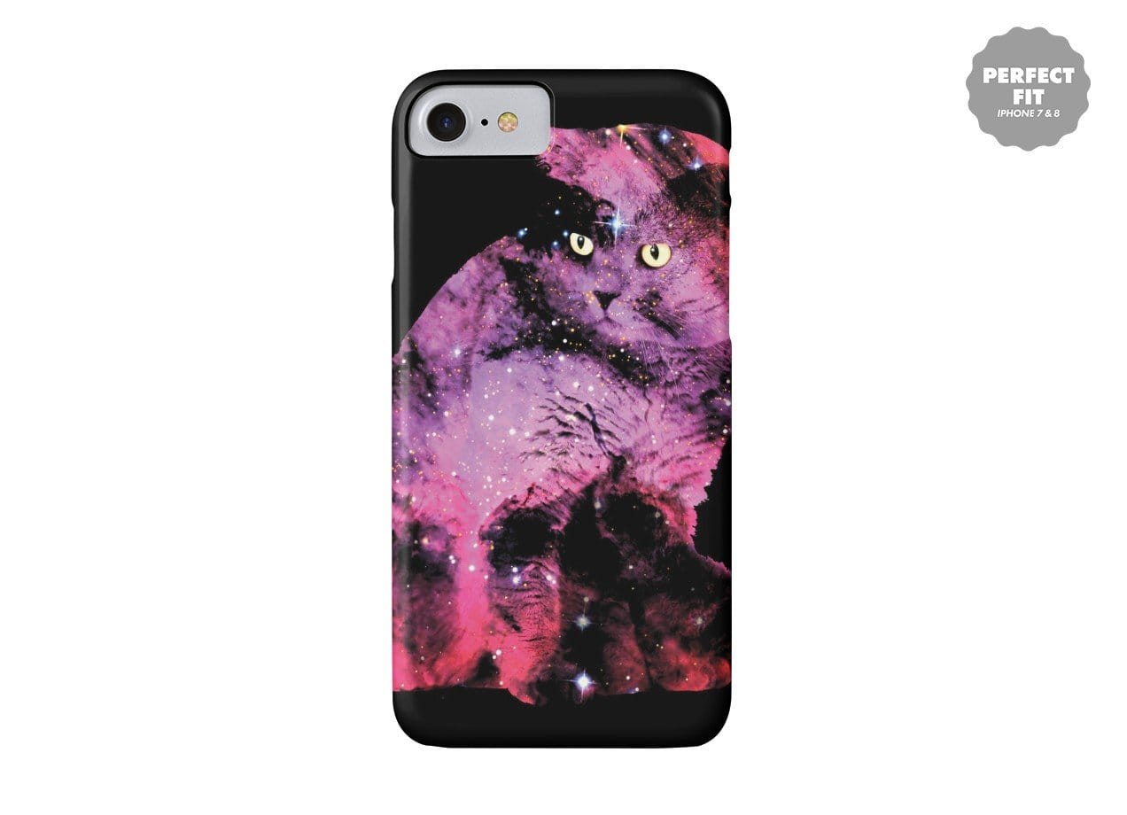 Celestial Cat By Boya Latumahina Perfect Fit Phone Case Threadless