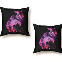 Celestial Cat - throw-pillow - small view