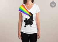 Technicolour Rex - womens-sublimated-v-neck - small view