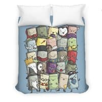 Storytellers - duvet-cover - small view