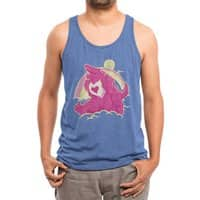 The Curse of the Care Were! - mens-triblend-tank - small view