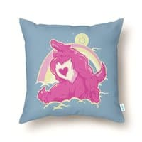 The Curse of the Care Were! - throw-pillow - small view