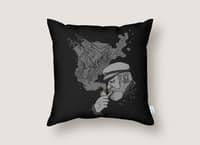 A Captain's Memory - throw-pillow - small view