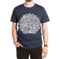 Peacock at Night - mens-extra-soft-tee - small view