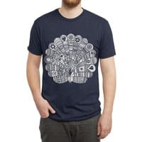 Peacock at Night - mens-triblend-tee - small view