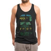 What Lies Beneath - mens-triblend-tank - small view