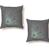 Zombie Shadows - throw-pillow - small view