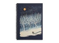 If On A Winter's Night... - spiral-notebook - small view