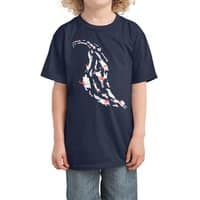 With Scarves of Red - kids-tee - small view