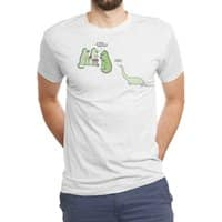 Who Invited the Herbivore? - mens-triblend-tee - small view