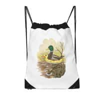 Duck in Training - drawstring-bag - small view