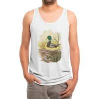 Duck in Training - mens-triblend-tank - small view