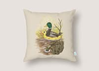 Duck in Training - throw-pillow - small view
