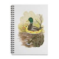 Duck in Training - spiral-notebook - small view