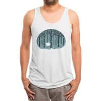 Hibearnation - mens-triblend-tank - small view