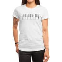 The Pianist - womens-regular-tee - small view