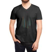 Urban Oscillations - vneck - small view