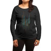 Urban Oscillations - womens-long-sleeve-terry-scoop - small view