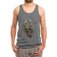 Lonely Man - mens-triblend-tank - small view