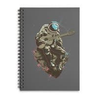 Lonely Man - spiral-notebook - small view