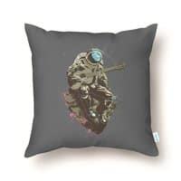 Lonely Man - throw-pillow - small view