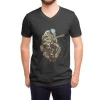 Lonely Man - vneck - small view