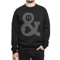Peace and Love - crew-sweatshirt - small view