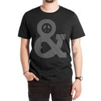 Peace and Love - mens-extra-soft-tee - small view