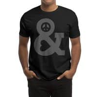 Peace and Love - mens-regular-tee - small view