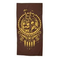 Steampunk 1852 - beach-towel - small view