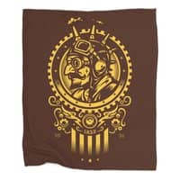 Steampunk 1852 - blanket - small view