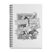 Zombies - spiral-notebook - small view