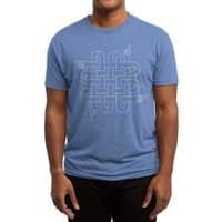 North South East West - mens-triblend-tee - small view