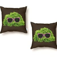 Mr. Salad - throw-pillow - small view