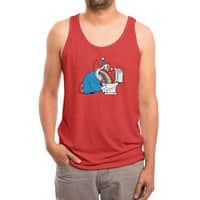 The Morning After - mens-triblend-tank - small view