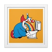 The Morning After - white-square-framed-print - small view