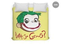 Why So Curious? - duvet-cover - small view