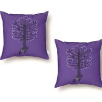 The Symphonic Tree - throw-pillow - small view